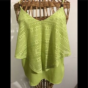 Lime green amazing top